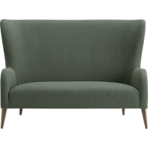 suitor escargot loveseat