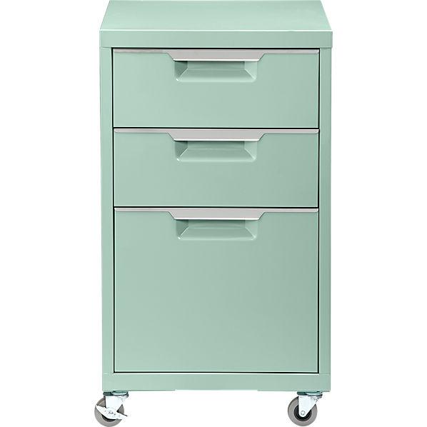 Tps Mint 3 Drawer Filing Cabinet Cb2