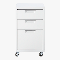 TPS white file cabinet