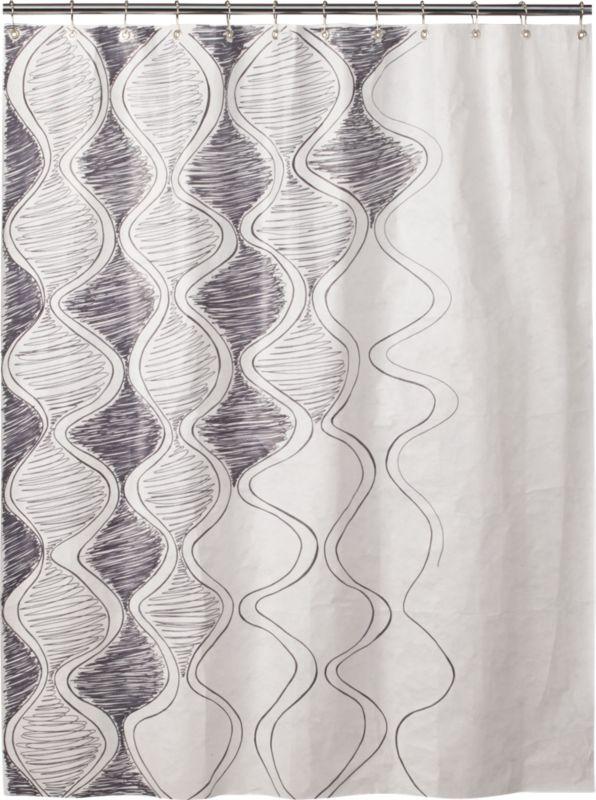 ty DIY shower curtain