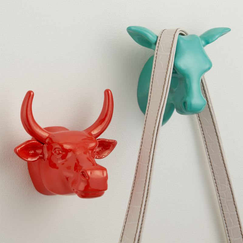 taurus coat hook