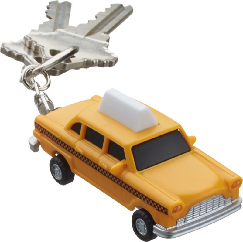 taxi key chain