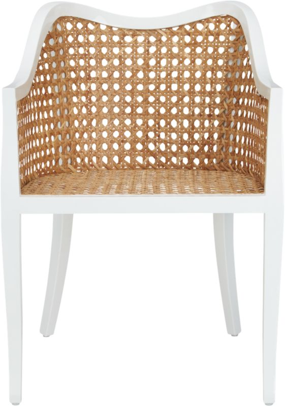Tayabas Cane Side Chair Cb2
