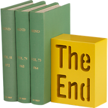 the end bookend