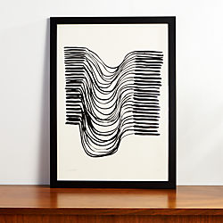 the row print