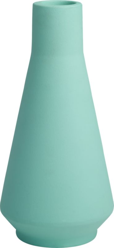 thirteen seafoam vase