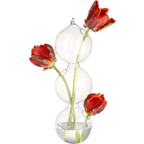 3-ball hanging vase