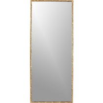 tork brass rectangular dripping mirror