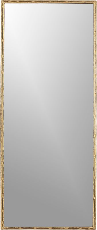 Tork Brass 20 Quot X48 Quot Dripping Mirror Cb2