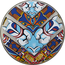 totem friends drum head