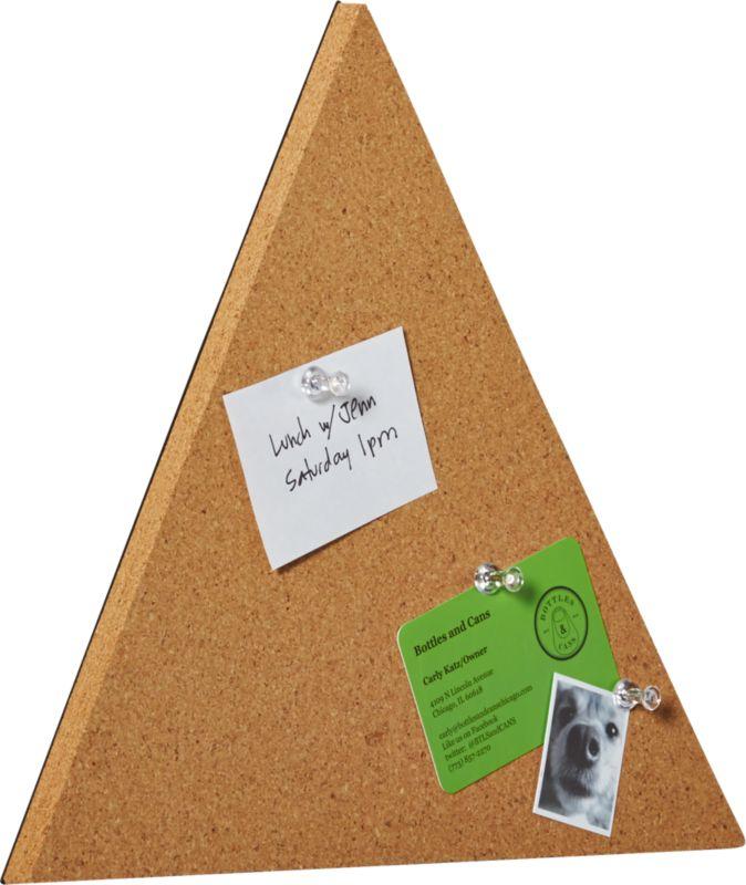 tri corkboard