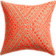 "tribal band 18"" pillow with feather-down insert"