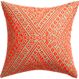 "tribal band 18"" pillow"