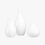 3-piece trio vase set