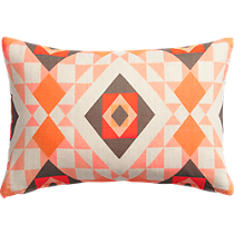 "trisect 18""x12"" pillow"