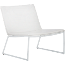 triumph ivory lounge chair