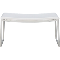 triumph ivory ottoman