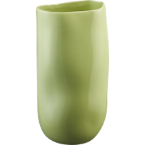 trough glossy sour apple vase