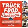 """truck food cookbook"". 304 pages; 9.25""x8.5"""
