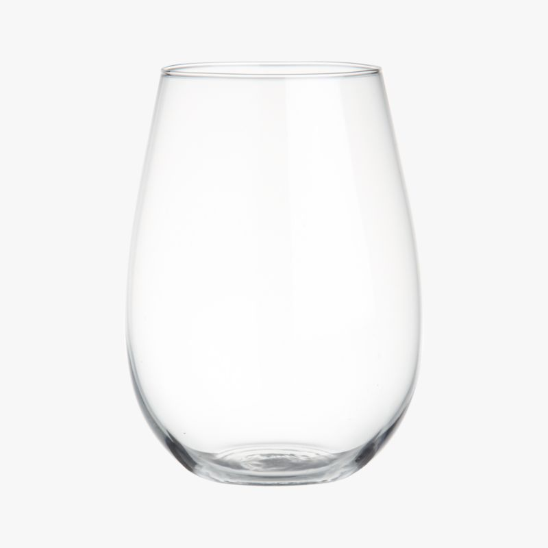 true stemless wine glass