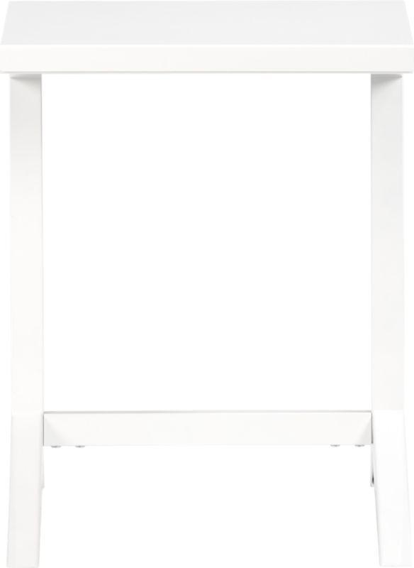 tucker white laptop table