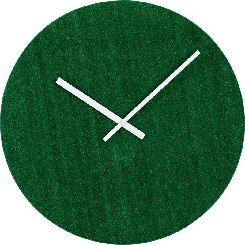 "turf 30"" clock"