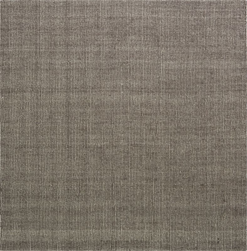 grey/ivory tweed rug