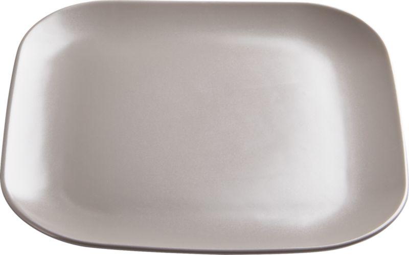 undertone grey dinner plate
