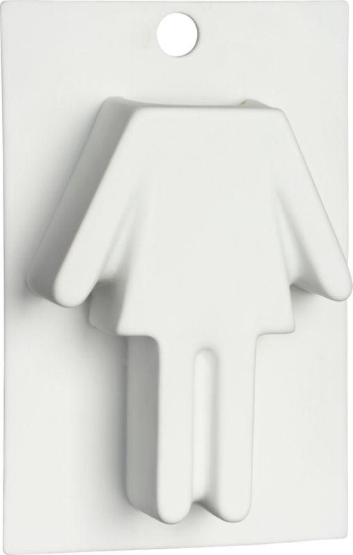 une femme vase