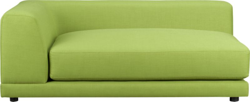 uno kiwi left arm sofa