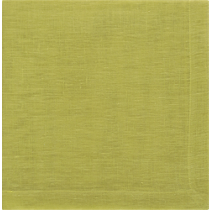 uno chartreuse linen napkin