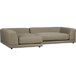 uno caper 2-piece sectional sofa