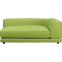 uno kiwi right arm sofa