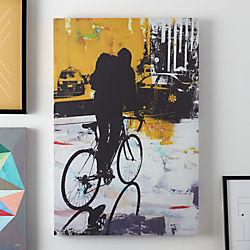 urban biker print
