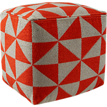 vane knitted pouf