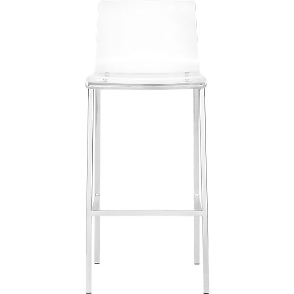 Vapor 30 Acrylic Bar Stool Cb2