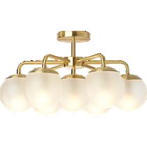vega flush mount lamp