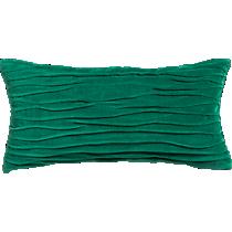 """velvet twist hunter green 23""""x11"""" pillow"""