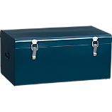 versus blue-green galvanized trunk
