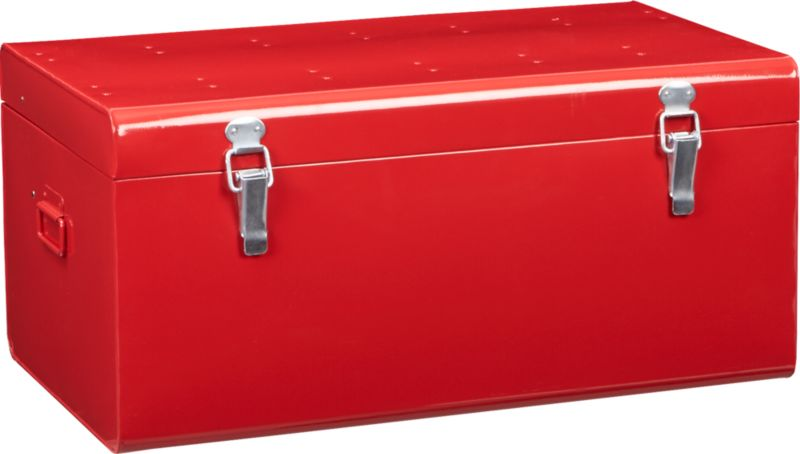 versus red galvanized trunk
