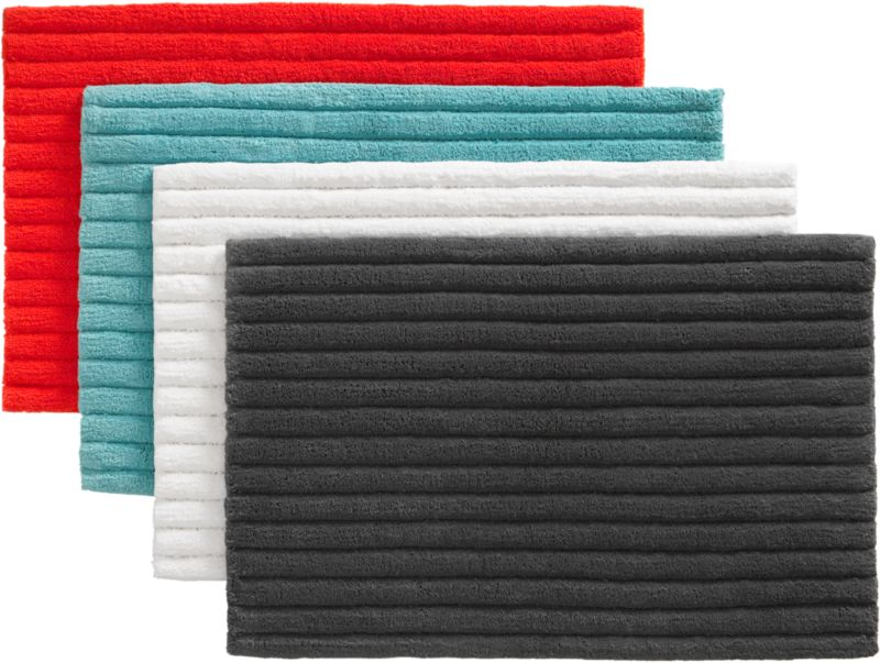 vertical stripe bath rugs