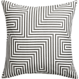 "vibe 18"" pillow with feather-down insert"