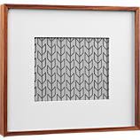 walnut 8x10 box picture frame
