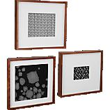 walnut box picture frames