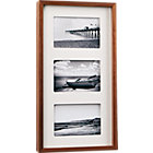 walnut multi 4x6 box picture frame.
