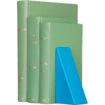 wedge silicone bookend