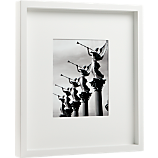 white matte 8x10 picture frame