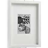 white matte 5x7 picture frame