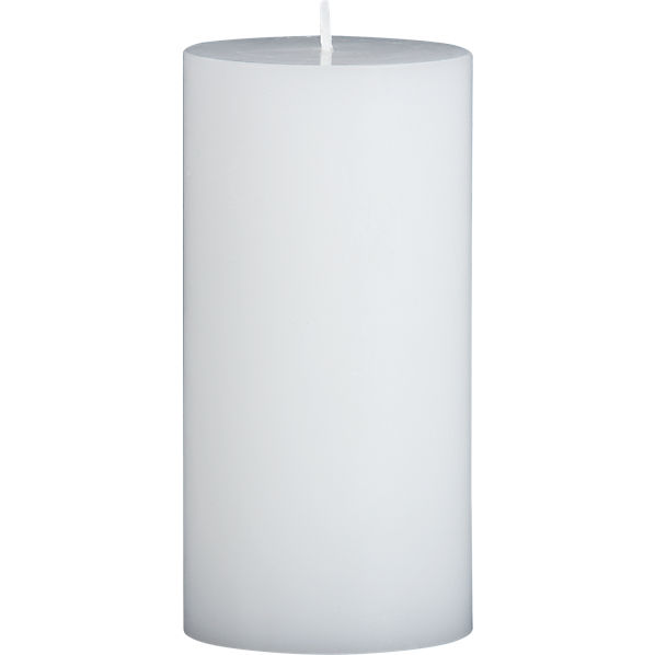 WhitePillarCandle3x6F7