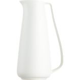white pitcher